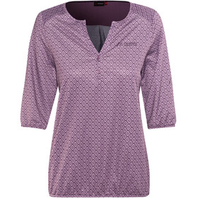 Maier Sports Doora Blouse Women, lilac allover